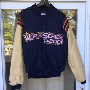 World Series 2001 Authentic Majestic Jacket